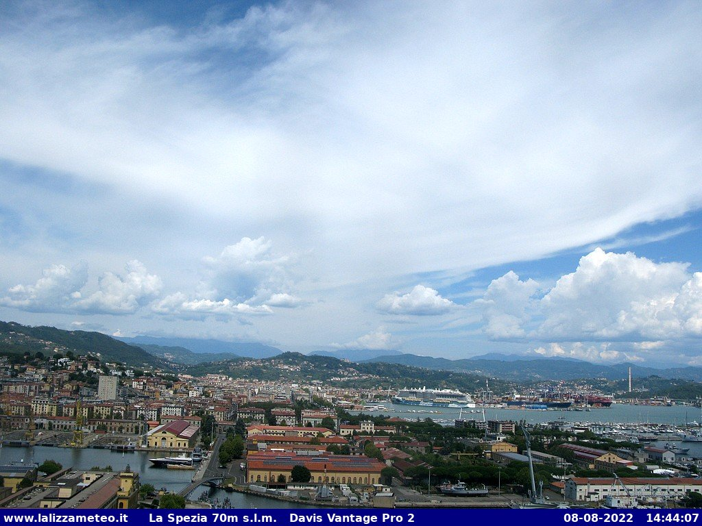 Webcam a La Spezia (SP)