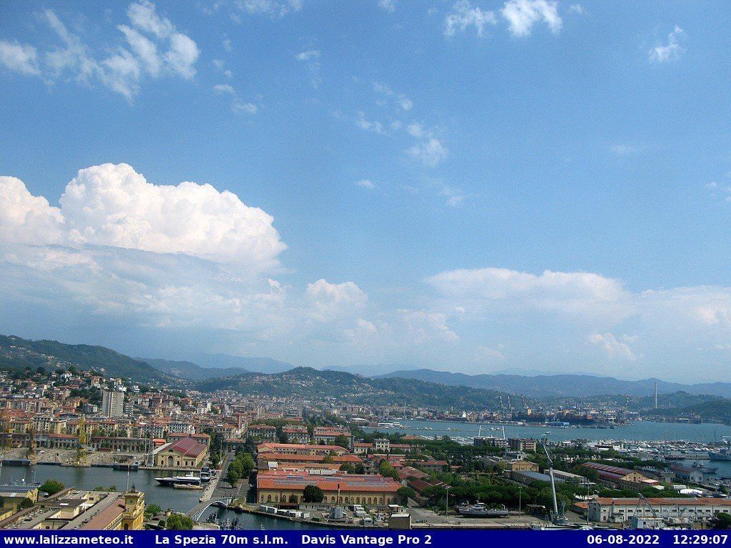 Webcam La Spezia - La Lizza Meteo